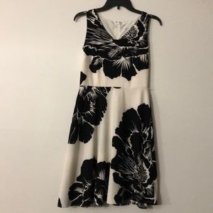 New York and Co. floral dress.